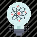idea, innovation, light, solution, startup icon