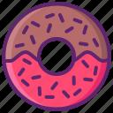 doughnut, donut, food, sweet