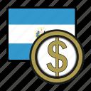 coin, colon, exchange, money, salvador, payment
