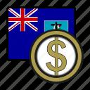 coin, dollar, exchange, montserrat, money, payment