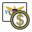 coin, dollar, exchange, money, virgin, payment