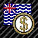 coin, money, exchange, dollar, ocean, payment icon