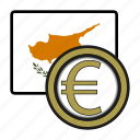 coin, cyprus, euro, exchange, money, payment