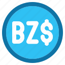 belize, dollar, currency, money
