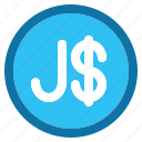 jamaica, dollar, currency, money