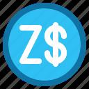 zimbabwe, dollar, currency, money