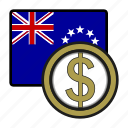 coin, cook, dollar, exchange, money, payment