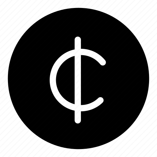 cent, currency, sign icon