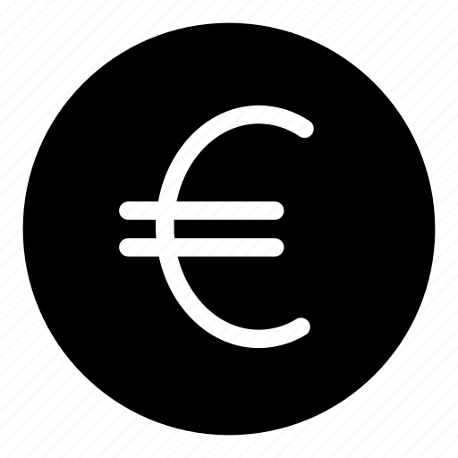 currency, euro, sign icon