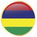 country, famous, flags, mauritius
