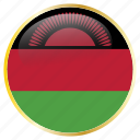 flags, malawi icon