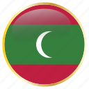 country, flags, holiday, maldives, national