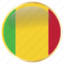 flags, mali icon