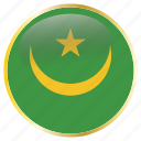 flags, mauritania icon
