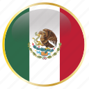 country, flag, mexico, national