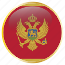 country, flag, flags, holida, montenegro, national