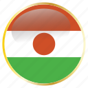 country, flags, niger