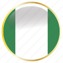 country, flags, nigeria