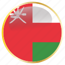 country, flags, islamic, oman