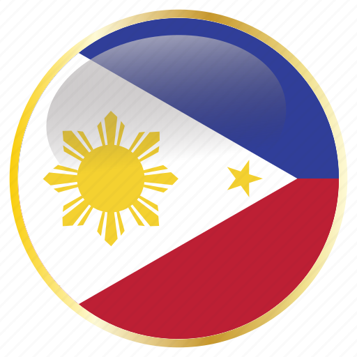 country, flags, national, philippines icon