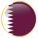 country, flags, qatar