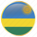 country, flags, holiday, rwanda