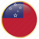 country, flag, flags, samoa icon