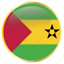 and, country, flags, principe, sao, tome