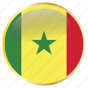 country, flags, holiday, national, senegal