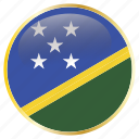 country, flags, holiday, iselands, national, solomon icon
