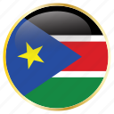 country, flags, south, sudan