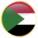 country, flags, sudan