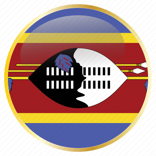 country, flags, north, swaziland icon