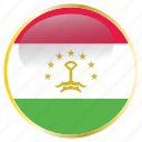 country, flag, flags, national, tajikistan