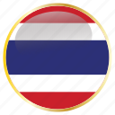 country, flags, holiday, national, thailand