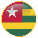 country, flags, togo
