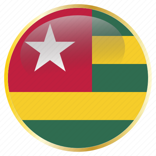 country, flags, togo icon