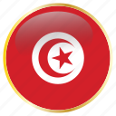 country, flags, tunisia