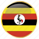 country, flags, place, uganda