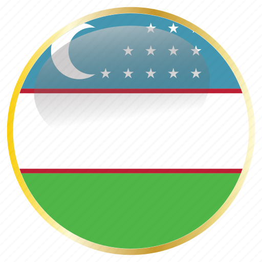 country, flags, uzbekistan icon