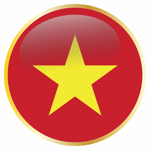 country, flags, vietnam icon