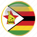 country, flags, zimbabwe