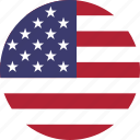 america, american, flag, flags, states, united, us, usa icon