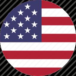 america, american, flag, flags, states, united, us, usa icon