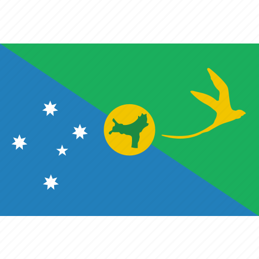 christmas, country, flag, island, nation icon