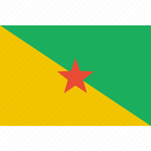 country, flag, french, guiana, nation icon