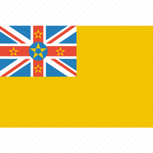 country, flag, nation, niue icon