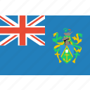 country, flag, islands, nation, pitcairn icon
