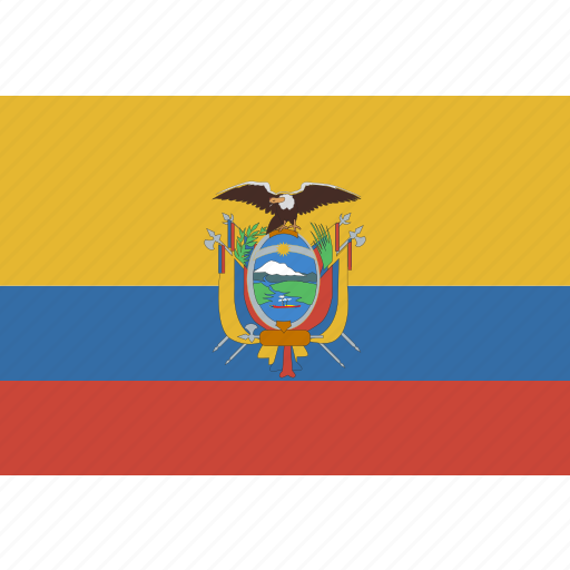 ecuador, rectangle icon