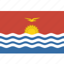 kiribati, rectangle icon